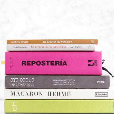 Libros de pastelería