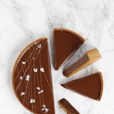 Super creamy chocolate tart